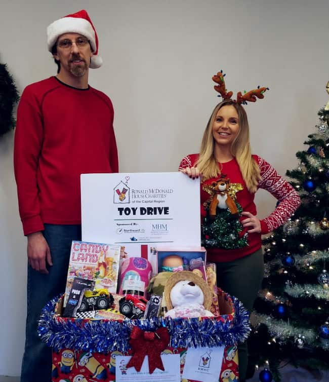 Nistel Donates to Toys for Tots