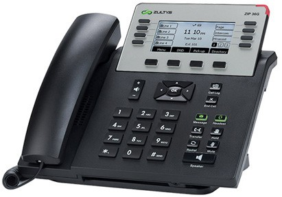 Zultys ZIP 36G Advanced Gigabit IP Business Phone